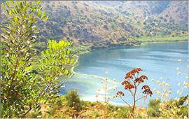 Kournas-See: Südliche Quelle