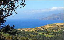Agios Pavlos: Blick auf die westlichen Strände
