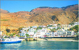 Sfakia: Hafen von Chora Sfakion